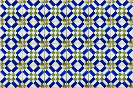 majolica: Portuguese tiles Stock Photo