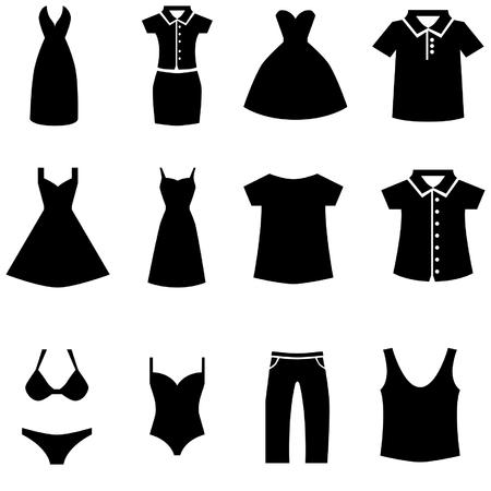 robe noire: Robe noire ic�ne ensemble