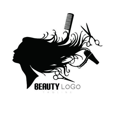Logo salonu piękności, logo salonu
