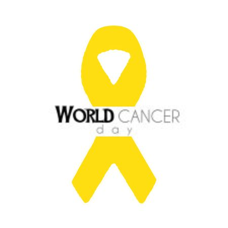 World Cancer Day poster Vector illustration