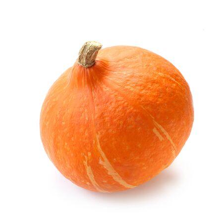 Hokkaido Pumpkin Isolated On White