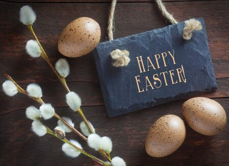 Easter Decorations With A Happy Easter Message