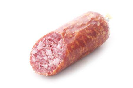 German Knackwurst Isolated On White