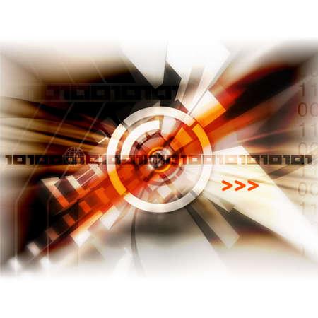 dsl: Modern Illustration Stock Photo