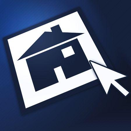 webhost: Homepage Blue