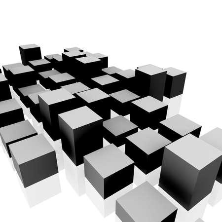 cuboid: 3D Blocks Stock Photo