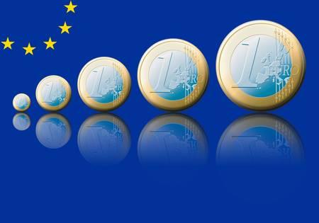valorization: Symbolic increase of the european value.