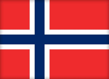 political system: The flag of Norway. (Original and official proportions).