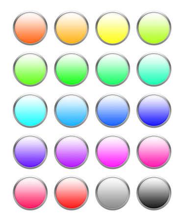Button Set Stock Photo - 1142047