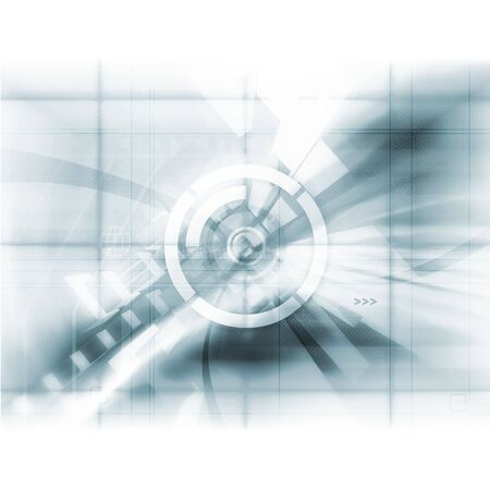 Abstract Tech Stock Photo