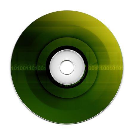 writable: Compact Disc   Stock Photo