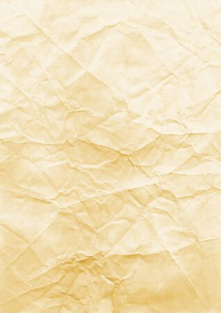 Old and crumpled paper background. High-resolution scan.