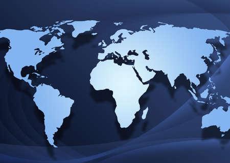 World Map Background photo
