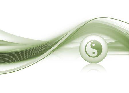 Yin & Yang Background photo