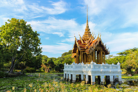 Classical pavilion in Suanluang rama9  in Bangkok, Thailand  photo