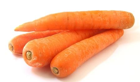 zanahoria: zanahorias Foto de archivo