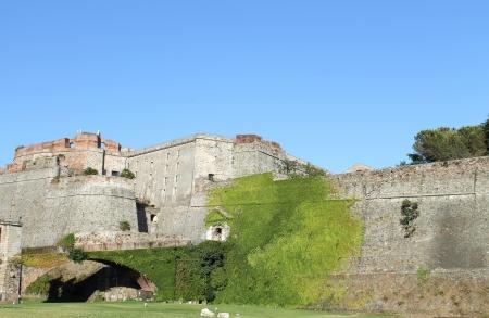 Priamar fortress in Savona Stock Photo