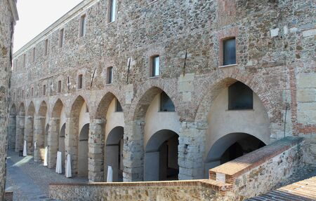 Priamar fortress in Savona Stock Photo