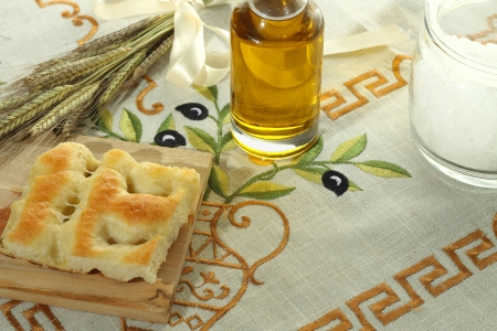 Italian focaccia  Stock Photo
