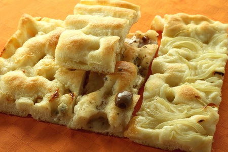 different types of italian focaccia