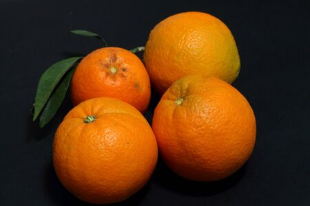 Organic oranges Stock Photo - 16527731