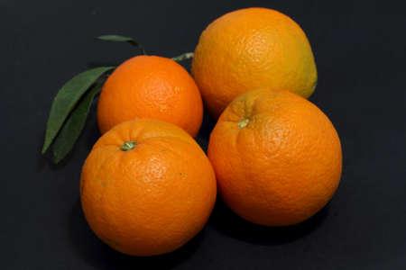 Organic oranges Stock Photo - 16527733
