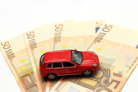 Money and car photo