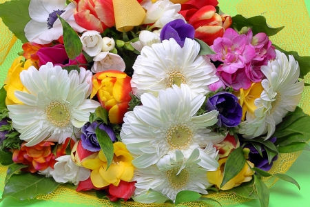 Bouquet of colorful flowers