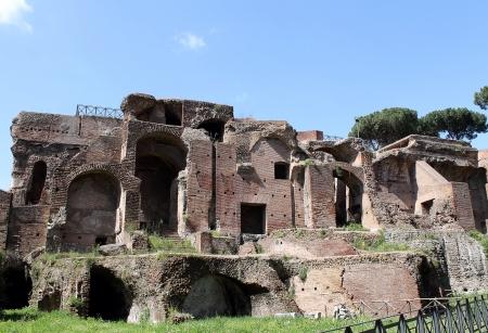 palatine: Palatine Hill in Rome