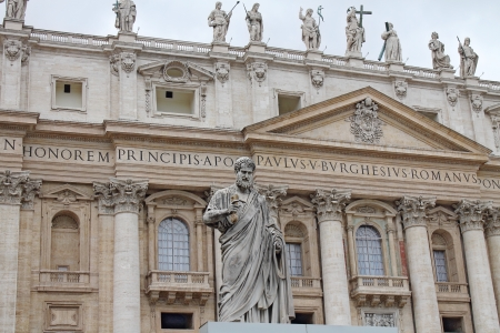 st  peter's basilica pope: St  Peter Basilica Editorial