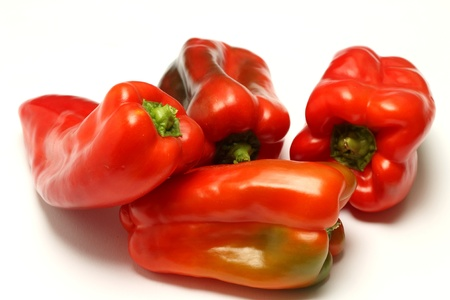Red peppers Stock Photo - 20681119