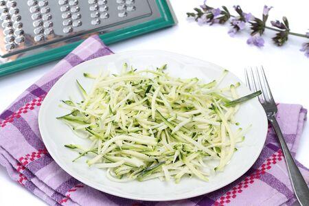 julienne: Julienne zucchini