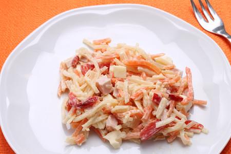 Italian coleslaw-insalata capricciosa