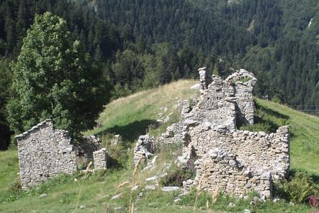 Ruins of shepherds houses