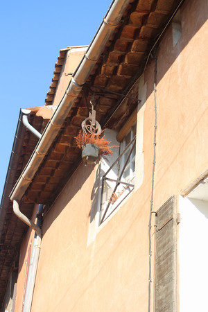 Roussillon, Provence, France Stock Photo