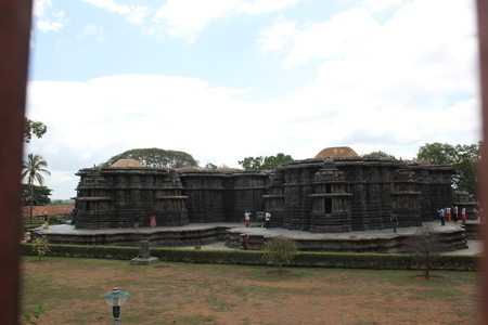 Outlook of Hoysaleswara Temple