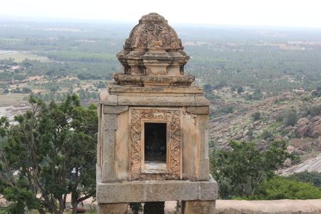 Vindhyagiri、Shravanabelagola、Tyagada ・ カンバの平面図 写真素材