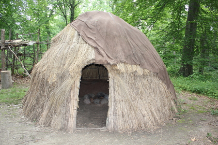 Modular Wigwam at Fort Ancient