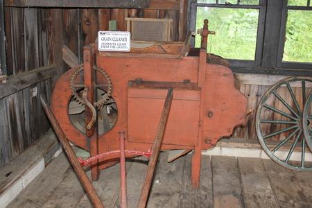 アーミッシュ農場で使用される穀物クレンザー