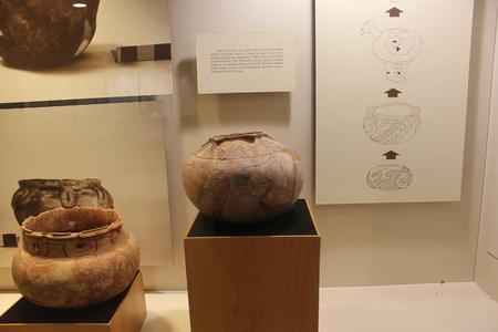 Kolomoki 博物館で展示アイテム 報道画像