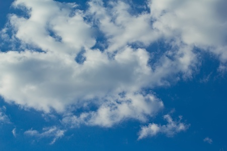Blue sky with  cloudy photo