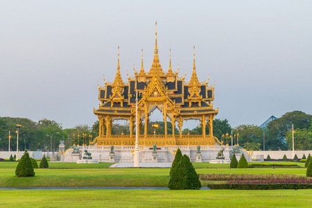 Royal funeral pyre of King Bhumibol of Thailand