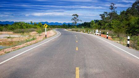 curve: curve on rural Roads