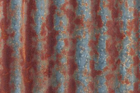 rust: rust on zinc wall,background
