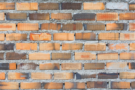 textured wall: Background of brick wall textur Stock Photo