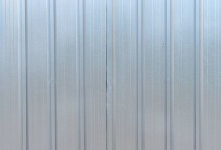 The zinc wall,background Stock Photo