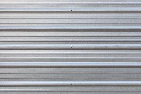 zinc: The zinc wall,background Stock Photo