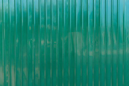 grooved: Green zinc wall,background