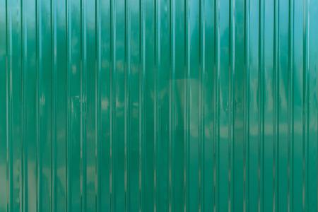 Green zinc wall,background