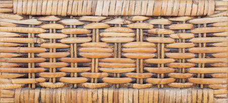 wicker bar: Woven rattan patterns Stock Photo